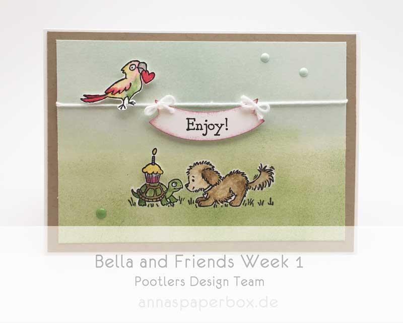 Pootlers Design Team – Bella and Friends Week 1