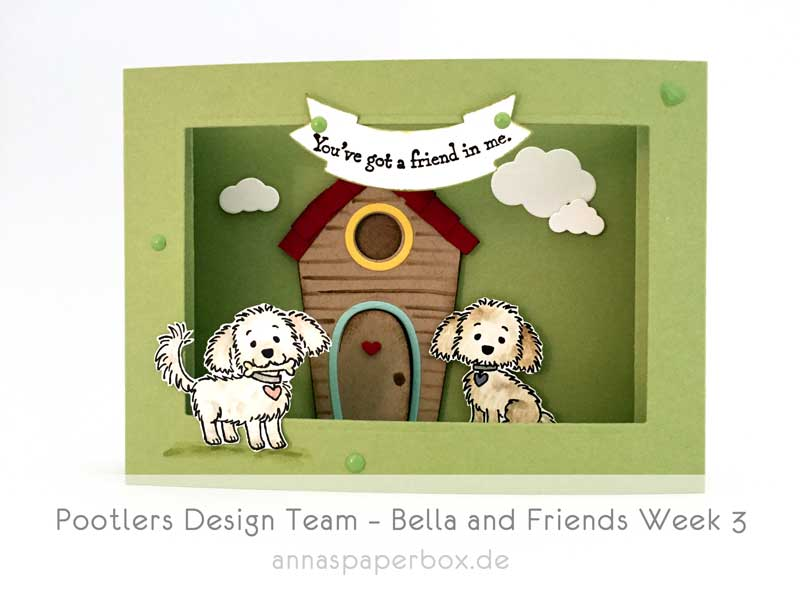 Pootlers Design Team – Bella and Friends Week 3