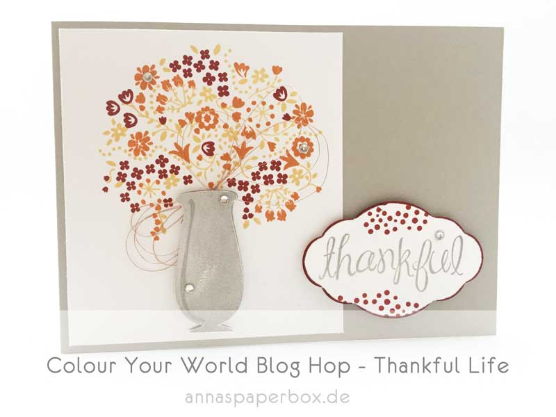 Colour Your World Blog Hop – Thankful Life