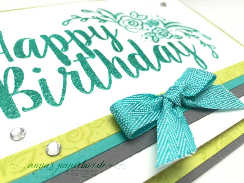 Big on Birthdays und eine Challenge