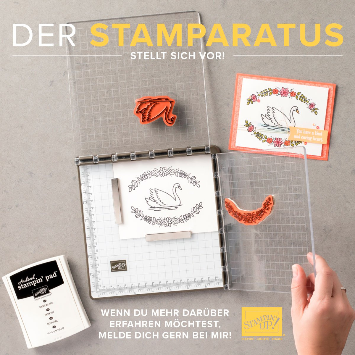 Stamparatus - Stempelpositionierhilfe - Stampin Up