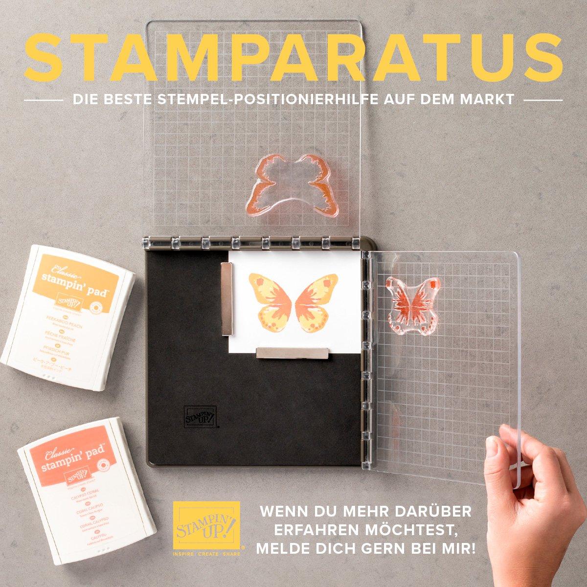 Neues Stempeltool – der Stamparatus