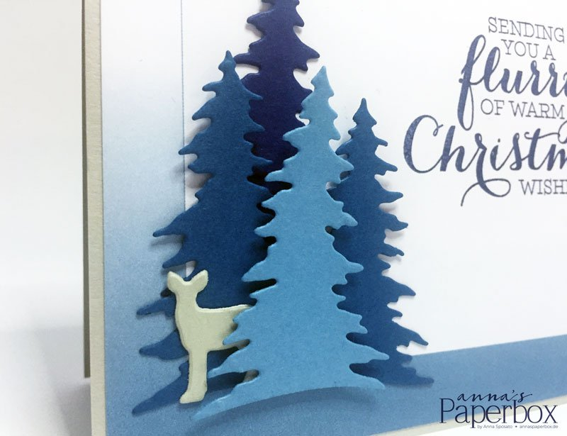 Color your world November Card - Flurry of Wishes, Color Theory, Card Front Builder,