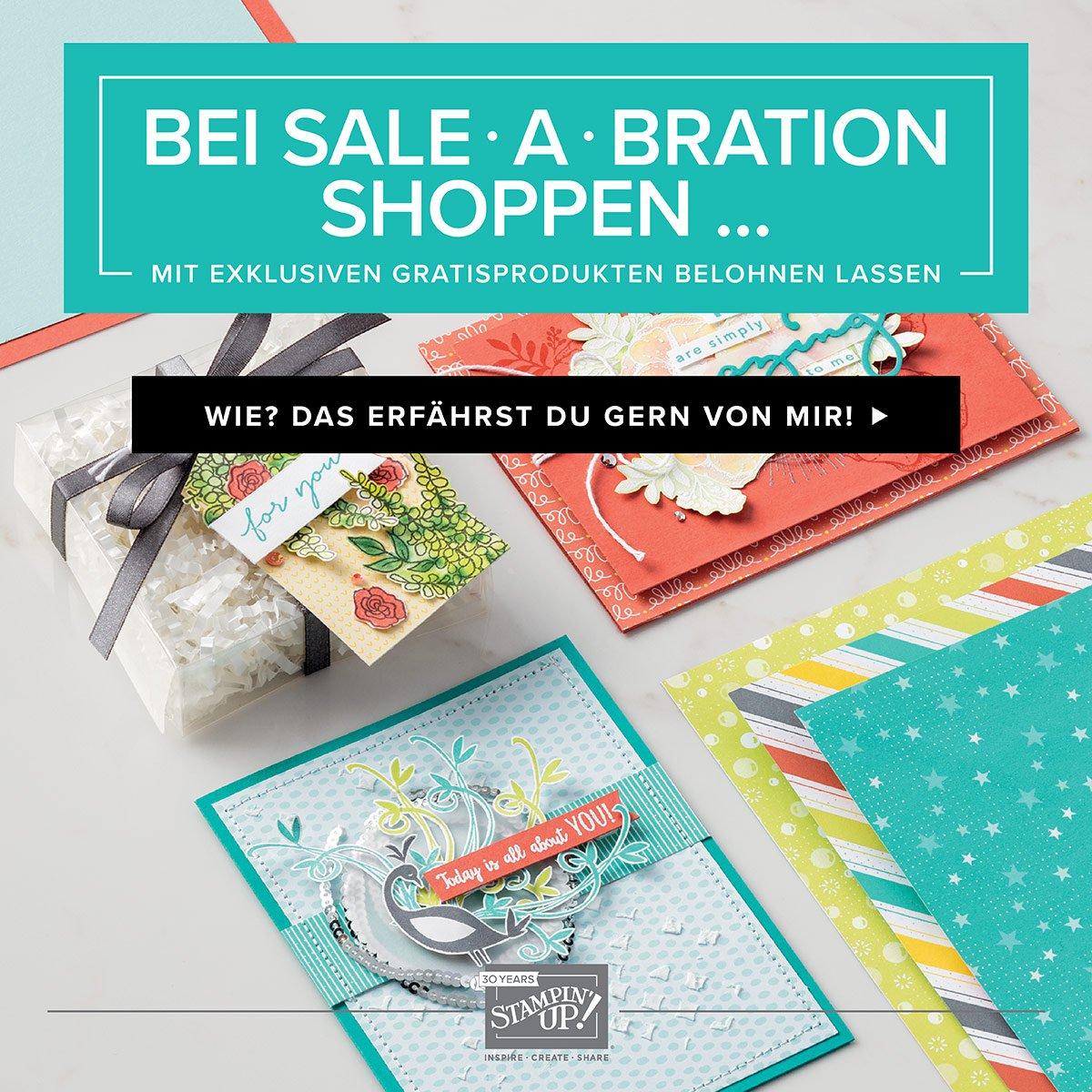 Neuer Katalog und Sale-A-Bration