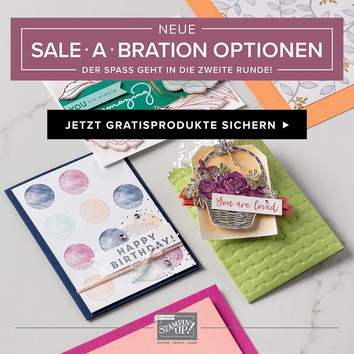 Neue Sale-A-Bration Prämien