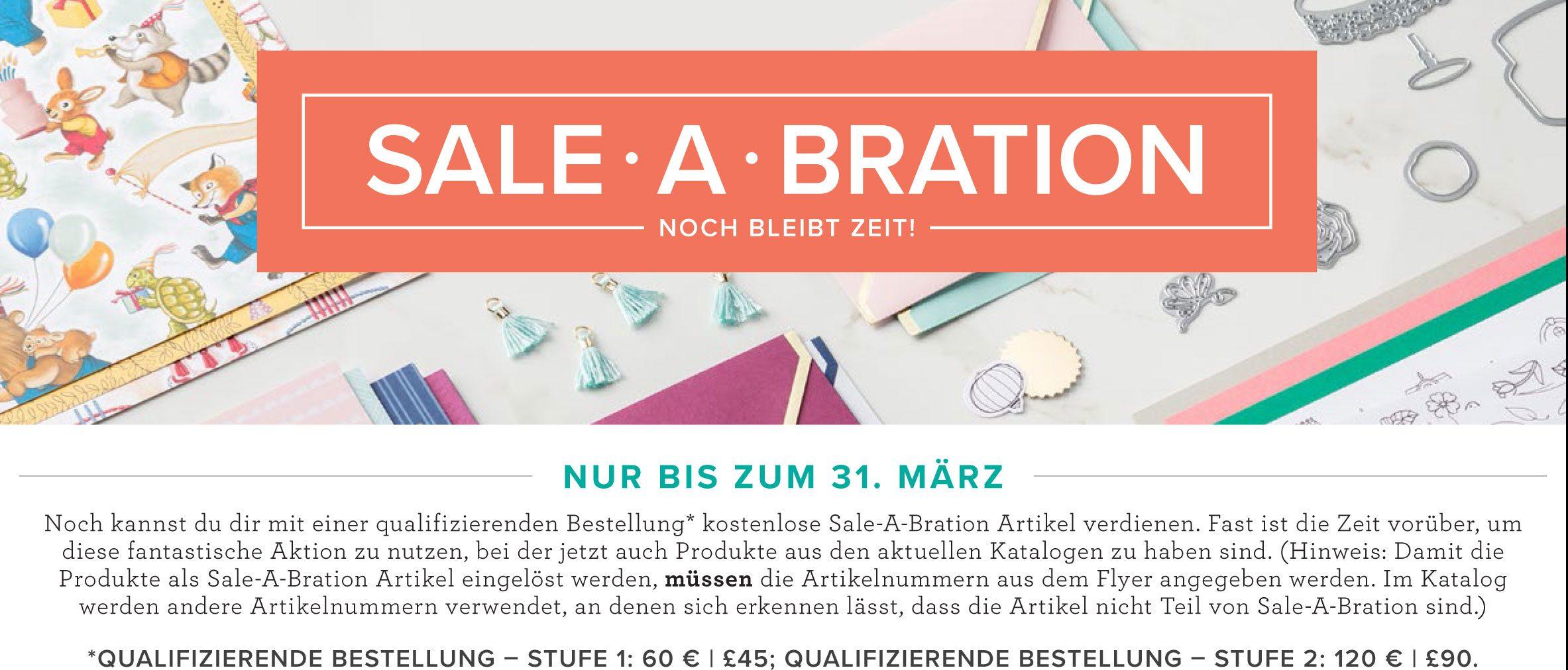 Sale-A-Bration geht in die dritte Runde!