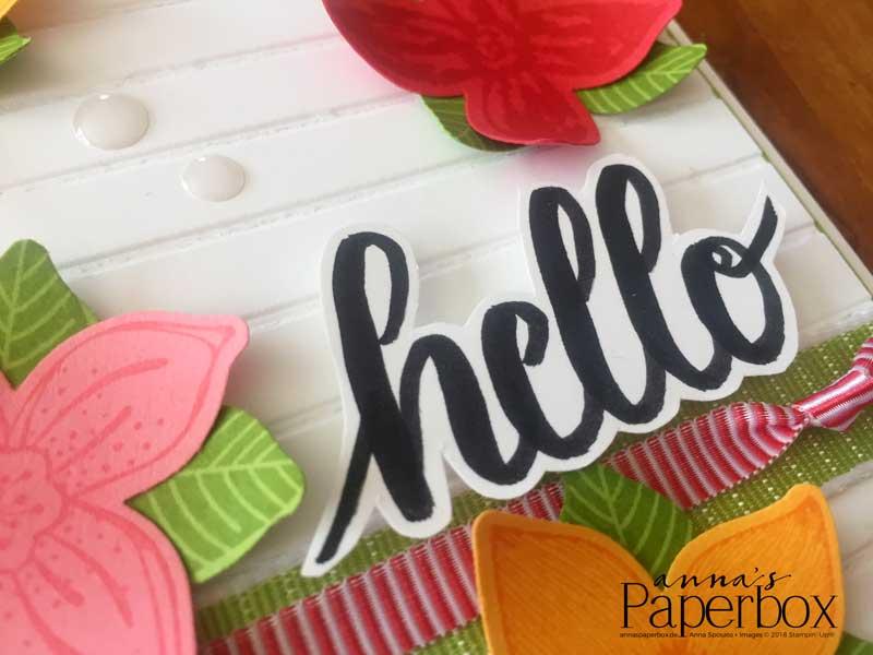 Pop of Petals und Brush Lettering
