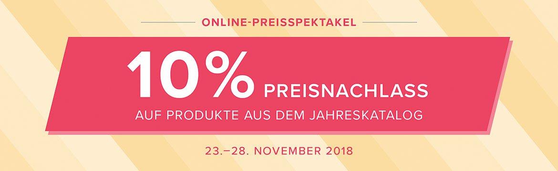 6 Tage – Online-Preisspektakel!!!