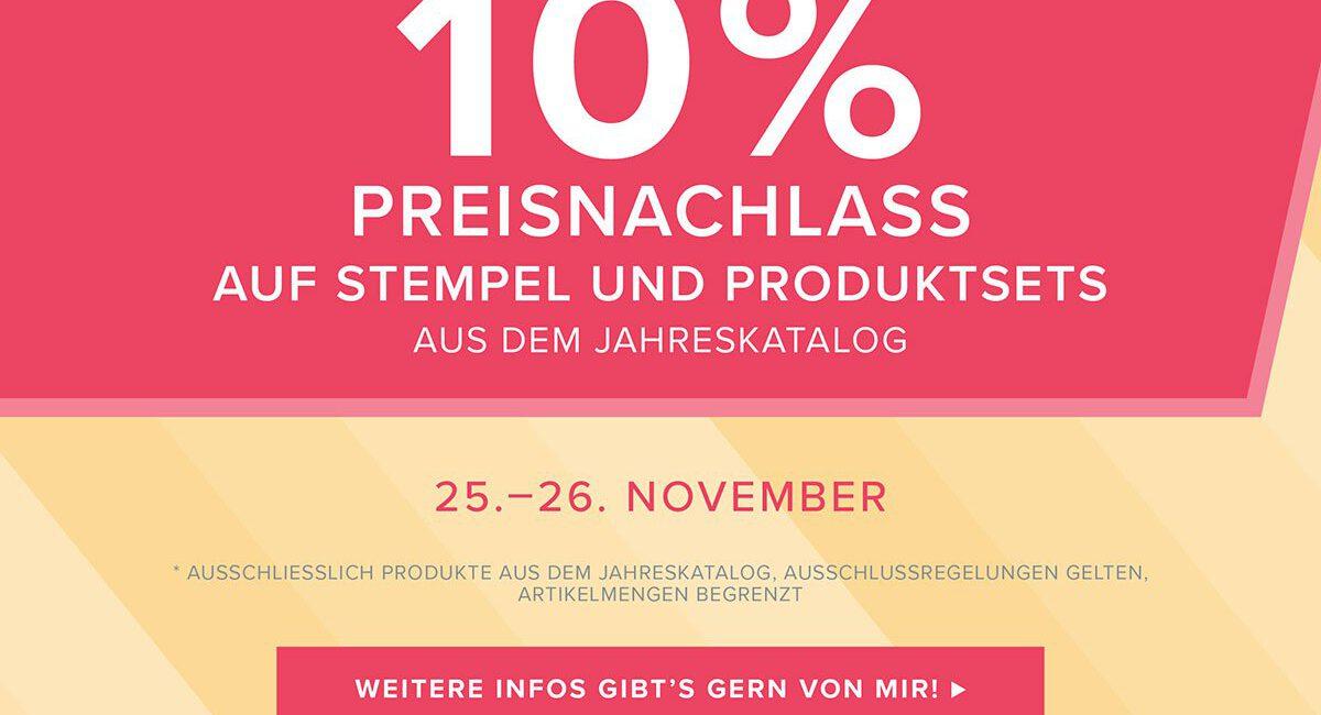 Online Preisspektakel – Stempel & Projekt-/Produktsets