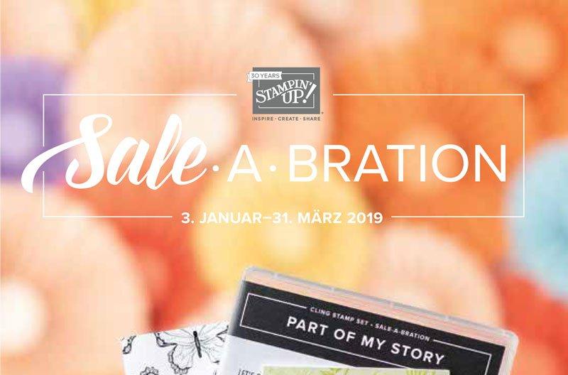 Update! Frühjahr-/Sommerkatalog und Sale-A-Bration