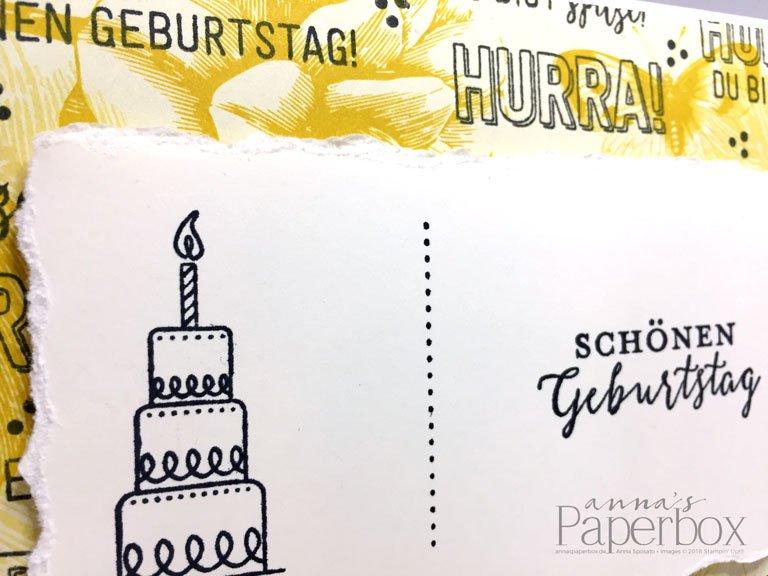 Geburtstagskarte #simplestamping