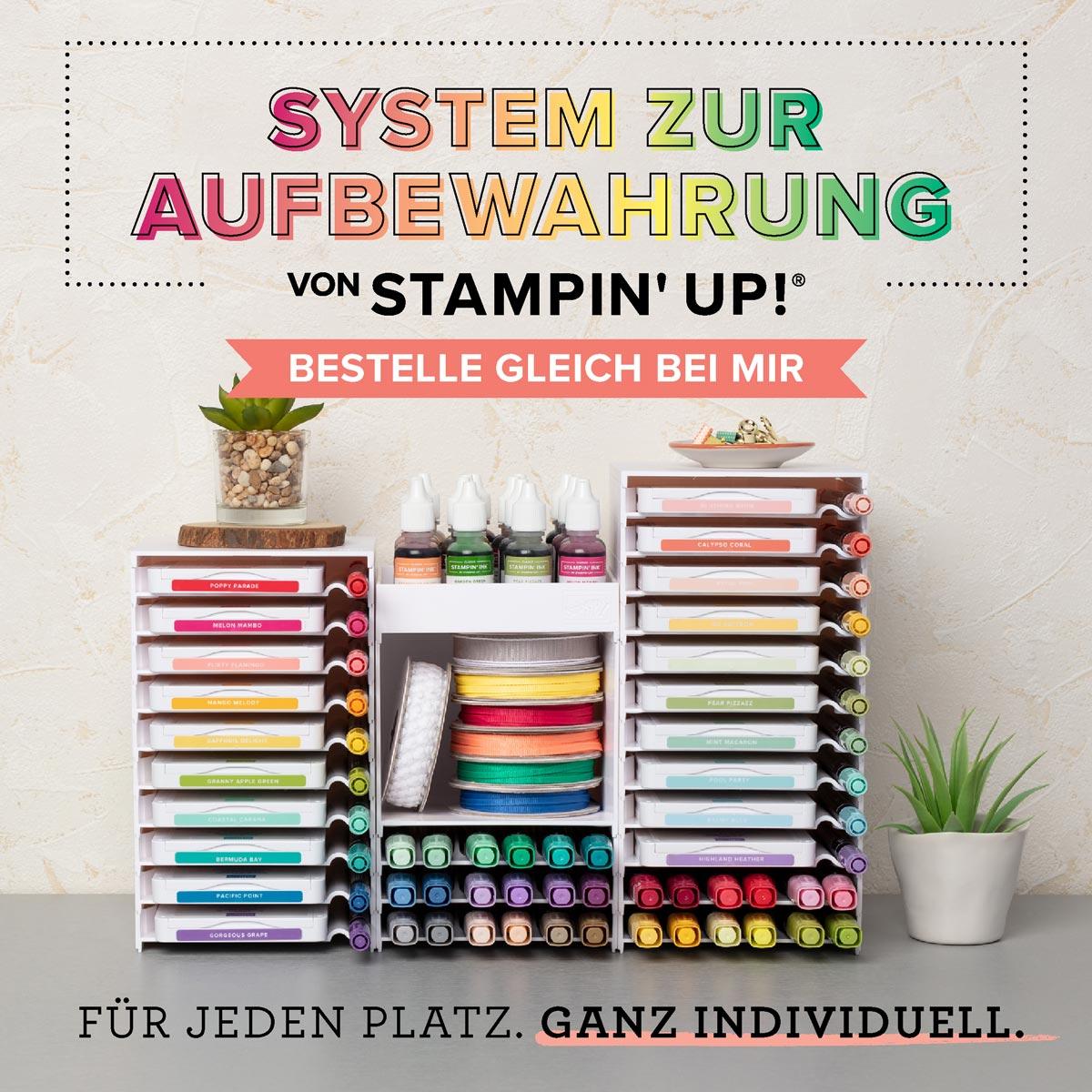 Neues Aufbewahrungssystem von Stampin' Up!