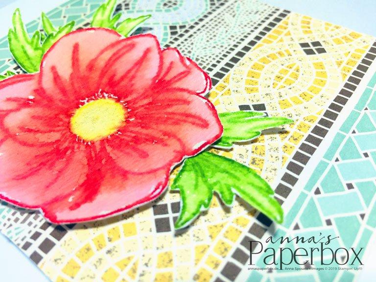 Gutscheinkarte – Florales Mosaik