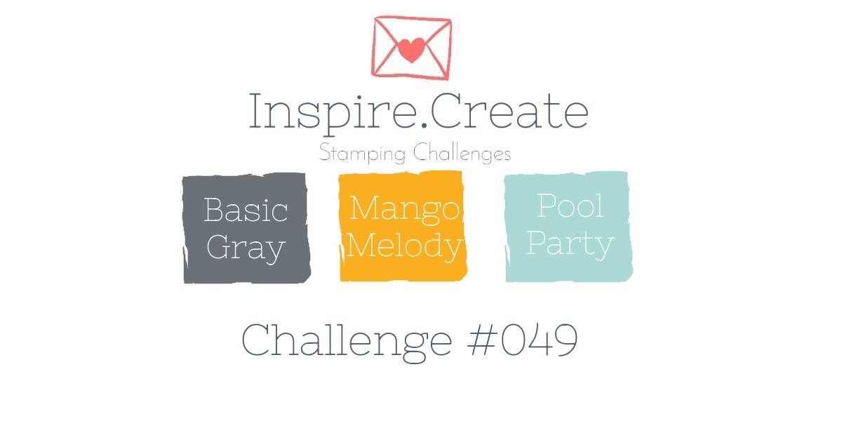 Colour Challenge, Basic Gray, Mango Melody, Pool Party