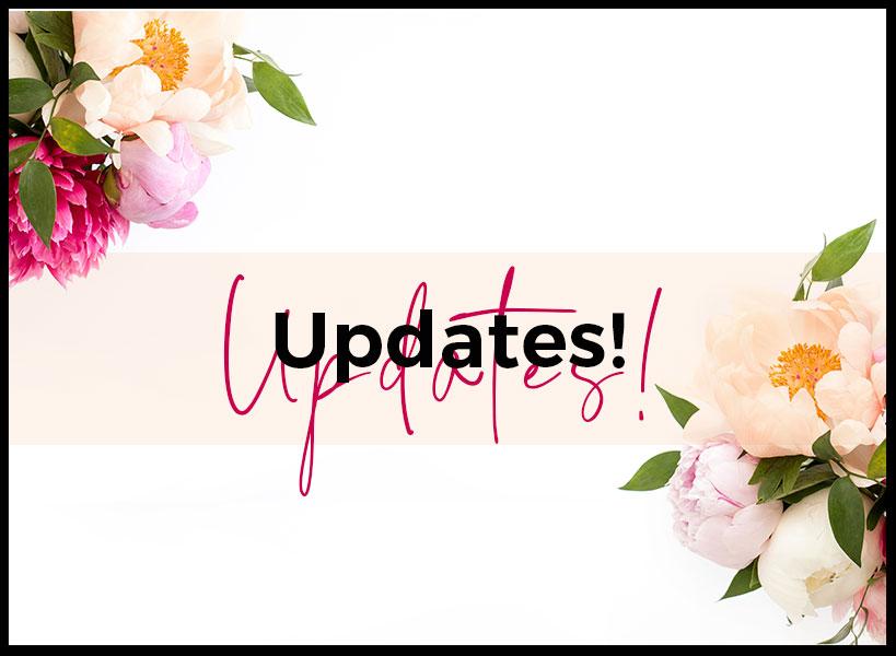 Unerwartetes und einige Updates