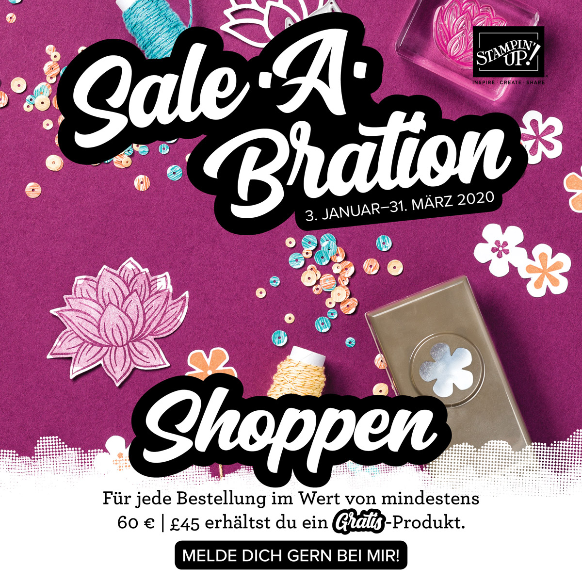 Frohes neues mit Sale-A-Bration!