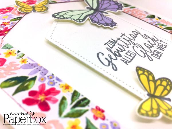 Schmetterlingsglück zum Geburtstag