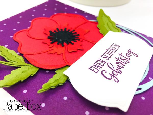 Inspire.Create.Challenge #067 – Mohnblüten zum Geburtstag