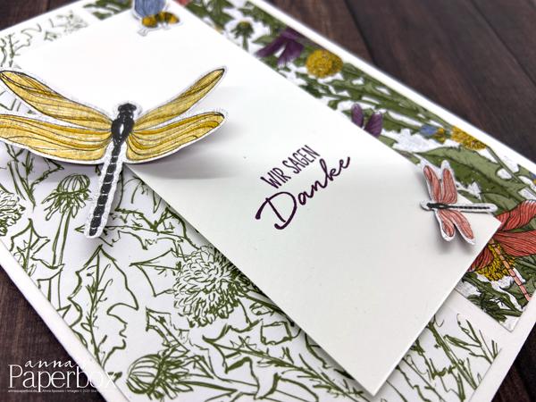 Inspire.Create.Challenge #087 – Dragonfly Garden/Libellengarten