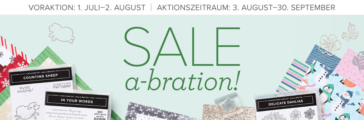 Sale-A-Bration August-September 2021